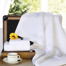 Factory Price High Quality Plain White Bath Towel