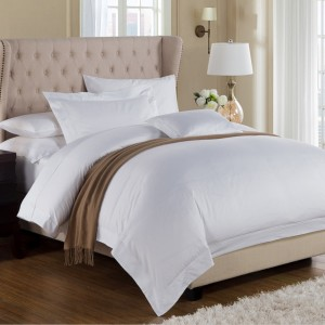 Hotel collection cotton sateen 4 PCS Bedding sheet