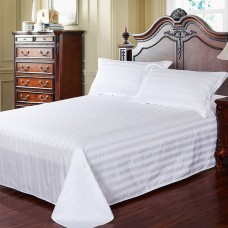Promotion price cotton Dobby Stripe bed sheet