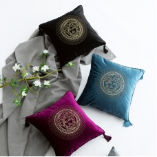 Plush rhinestone cushion cover pillow cover cushion 45*45cm/18*18inch in stock