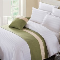Fashionable bed runner set for hotel decoration