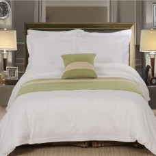 High Quality Cotton Plain Bedding Sets /hotel Bed Sheet Sets for Star Hotel