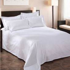 100%Cotton 300TC Satin Hotel Bed Sheet Sets