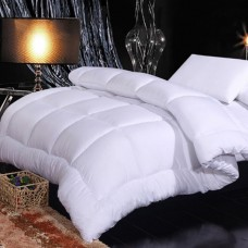 Manufacturer Cheapest 350GSM 7D Hollow Filling With Down-proof  Fabric Hotel Comforter