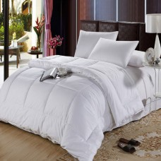 250GSM Microfiber Filling With 100%Cotton Fabric Hotel Quilt