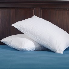 Hotel Feather and Down Queen Size Pillow Set