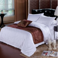 high quality hotel jacquard sheet sets