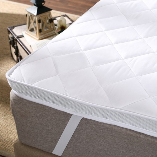 100 Polyester Hard Cotton Filling Mattress Topper
