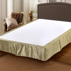 100% Polyester bed decoration bed skirt